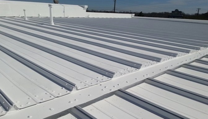 Austin Commercial Metal Roof Replacement