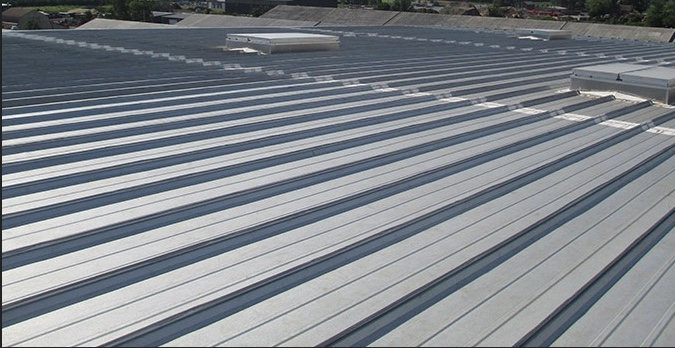 Commercial Metal Roof Replacement