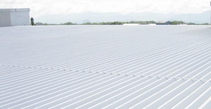 Commercial Metal Roof Restoration