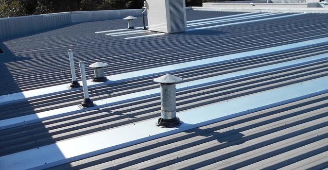 Commercial Metal Roof Repair