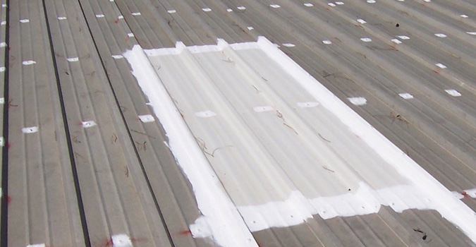 Commercial Metal Roof Repair