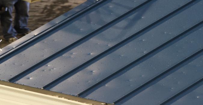 Metal Roof Storm Damage Repair